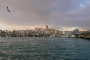 Galata Tower in the distance